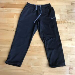 Nike Therma-Fit Black Gray Sweatpants Size Large